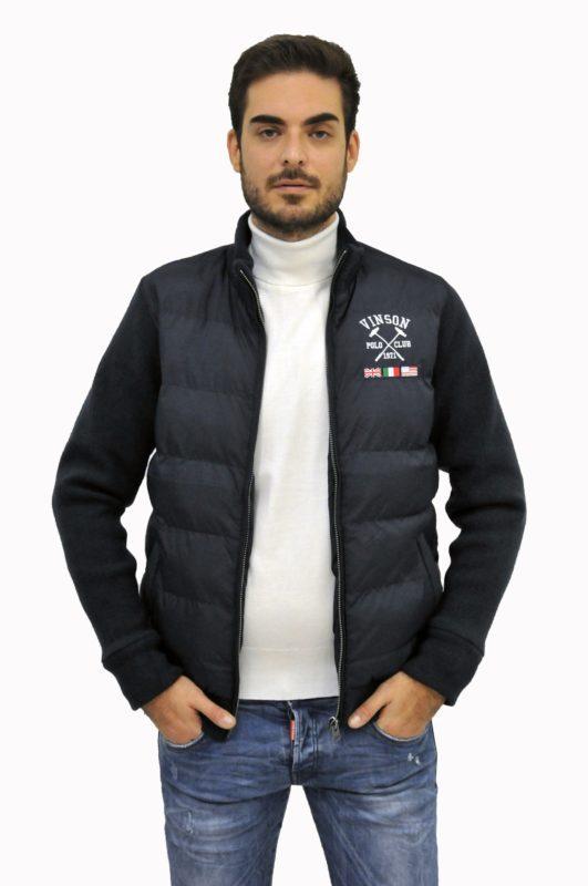 Μπλέ σκούρο χειμερινό μπουφάν Polo Club Vinson