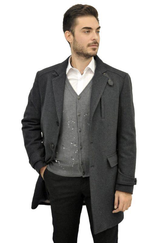 Γκρί παλτό MAN2MAN