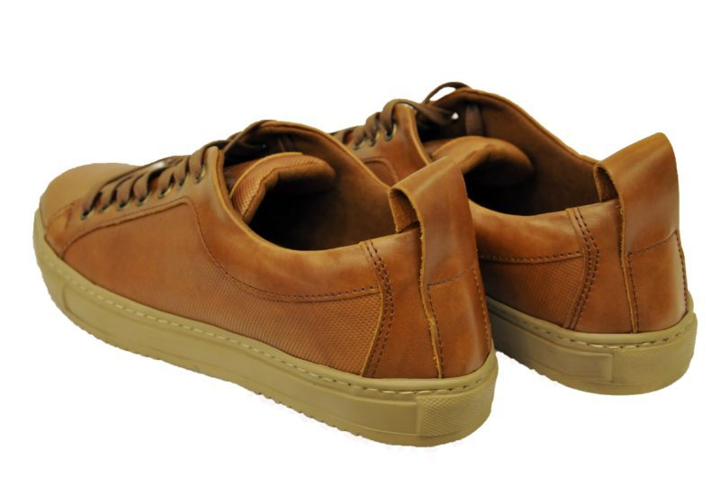 a00ed2d4171e Καφέ ταμπά δερμάτινα παπούτσια MAN2MAN
