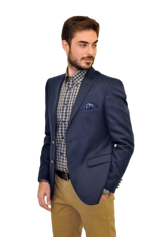 Μπλε σακάκι MAN2MAN