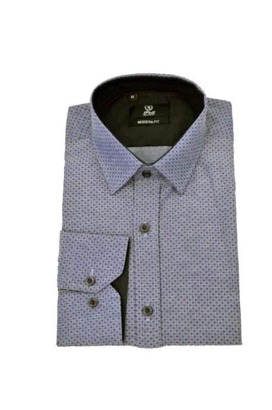 Ράφ εμπριμέ πουκάμισο με μικροσχέδια