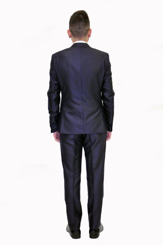 Σκούρο μπλε γαμπριάτικο κοστούμι