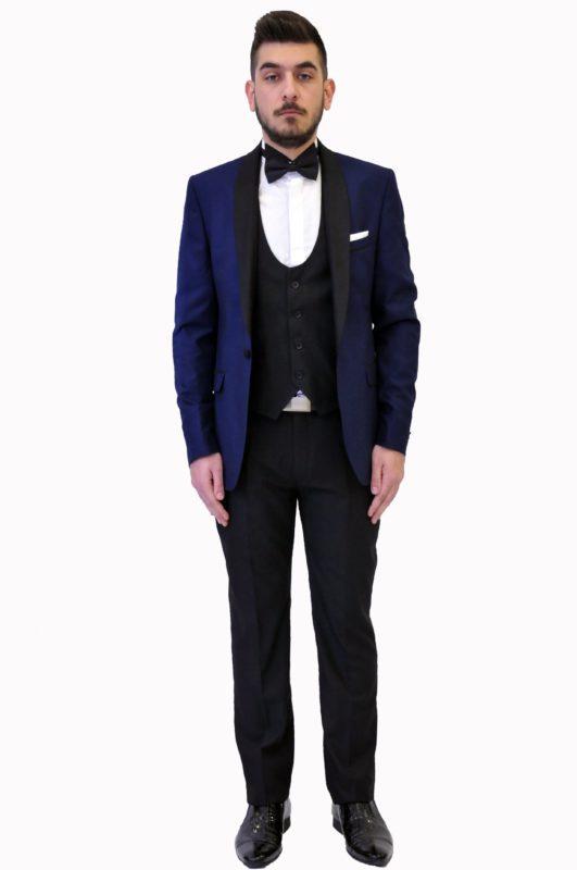 Δίχρωμο γαμπριάτικο κοστούμι