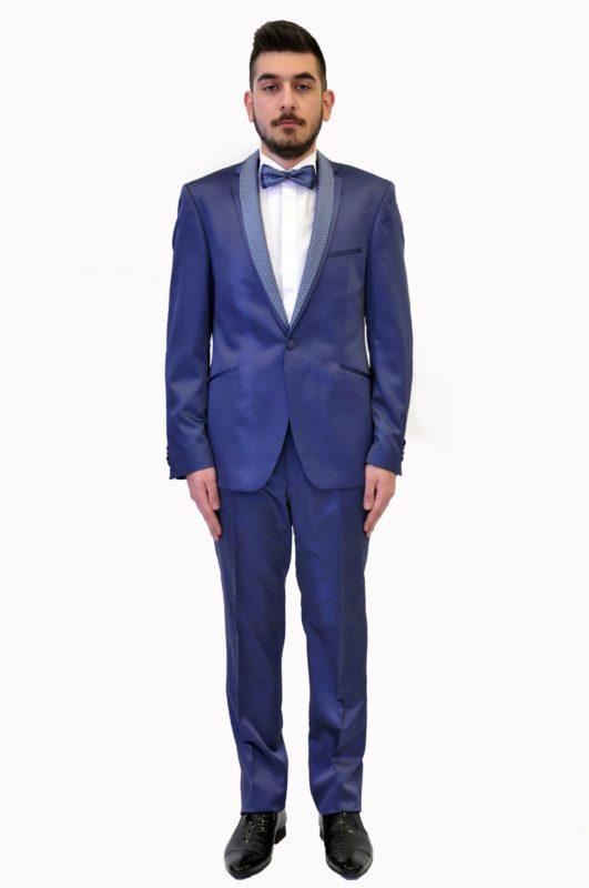 Ραφ γαμπριάτικο μεταξωτό κοστούμι