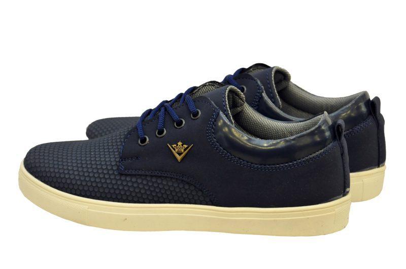 Μπλε sneakers παπούτσια με μικροσχέδια