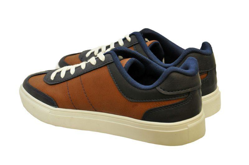 Μπλε καφέ sneakers παπούτσια