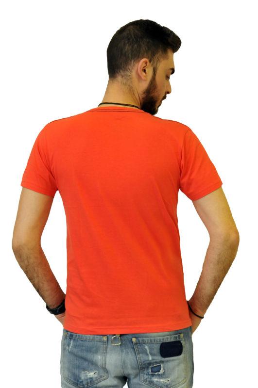 Φουξ βαμβακερό μπλουζάκι με στάμπα Battery τύπου λαιμόκοψη