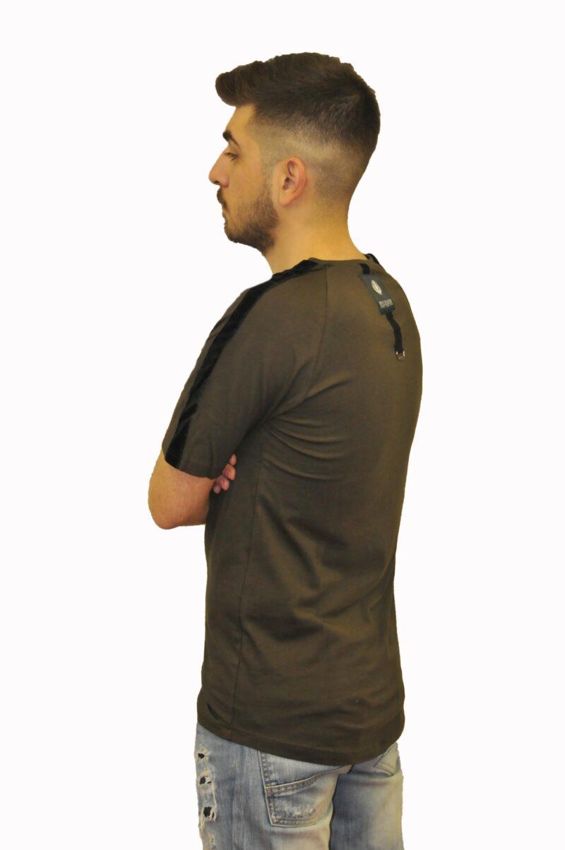 Λαδί βαμβακερό μπλουζάκι Reckless