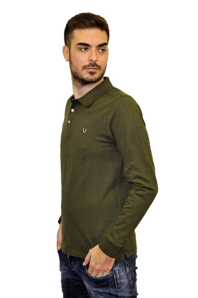Λαδί βαμβακερή μπλούζα PRE END