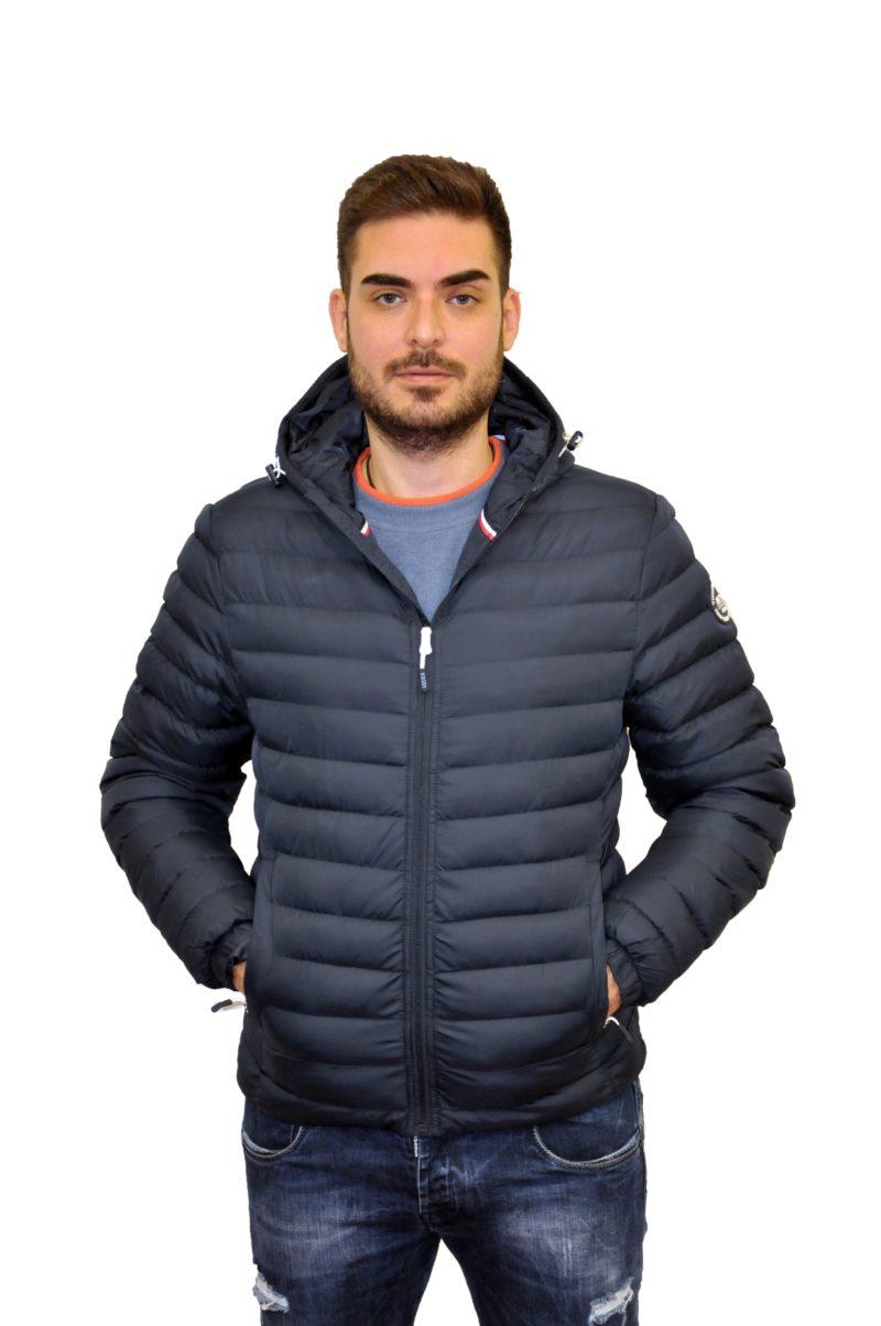 Μπλε σκούρο χειμερινό μπουφάν POLO CLUB VINSON