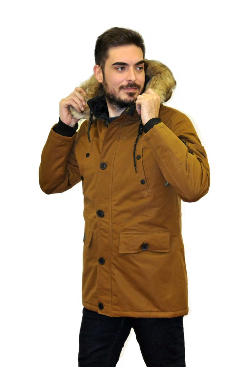 Κάμελ χειμερινό μπουφάν MANAGER