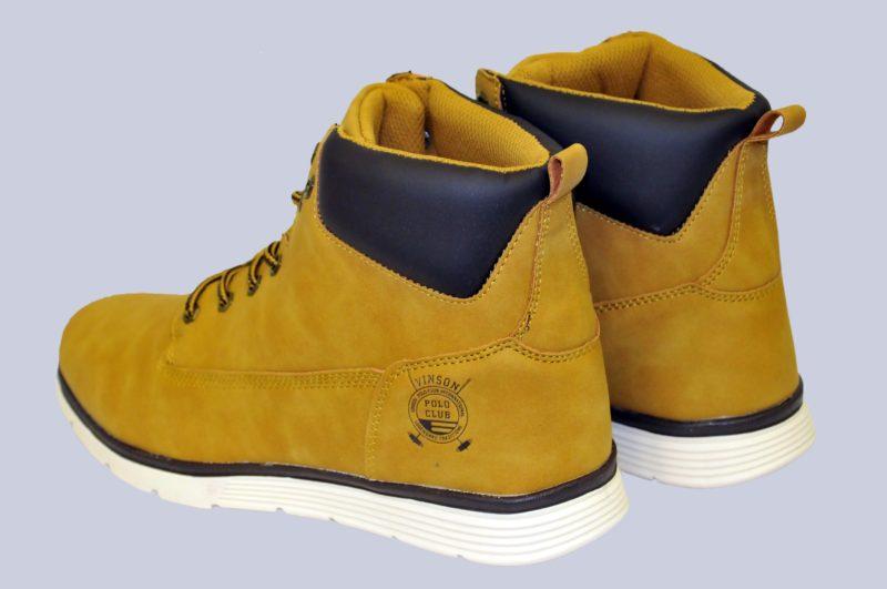 Καφέ παπούτσια POLO CLUB VINSON