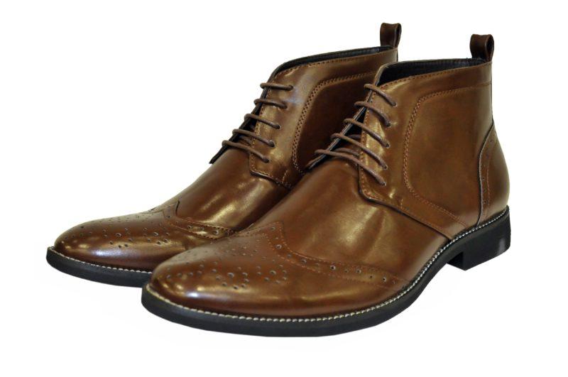 Καφέ παπούτσια NEW YORK TAILORS