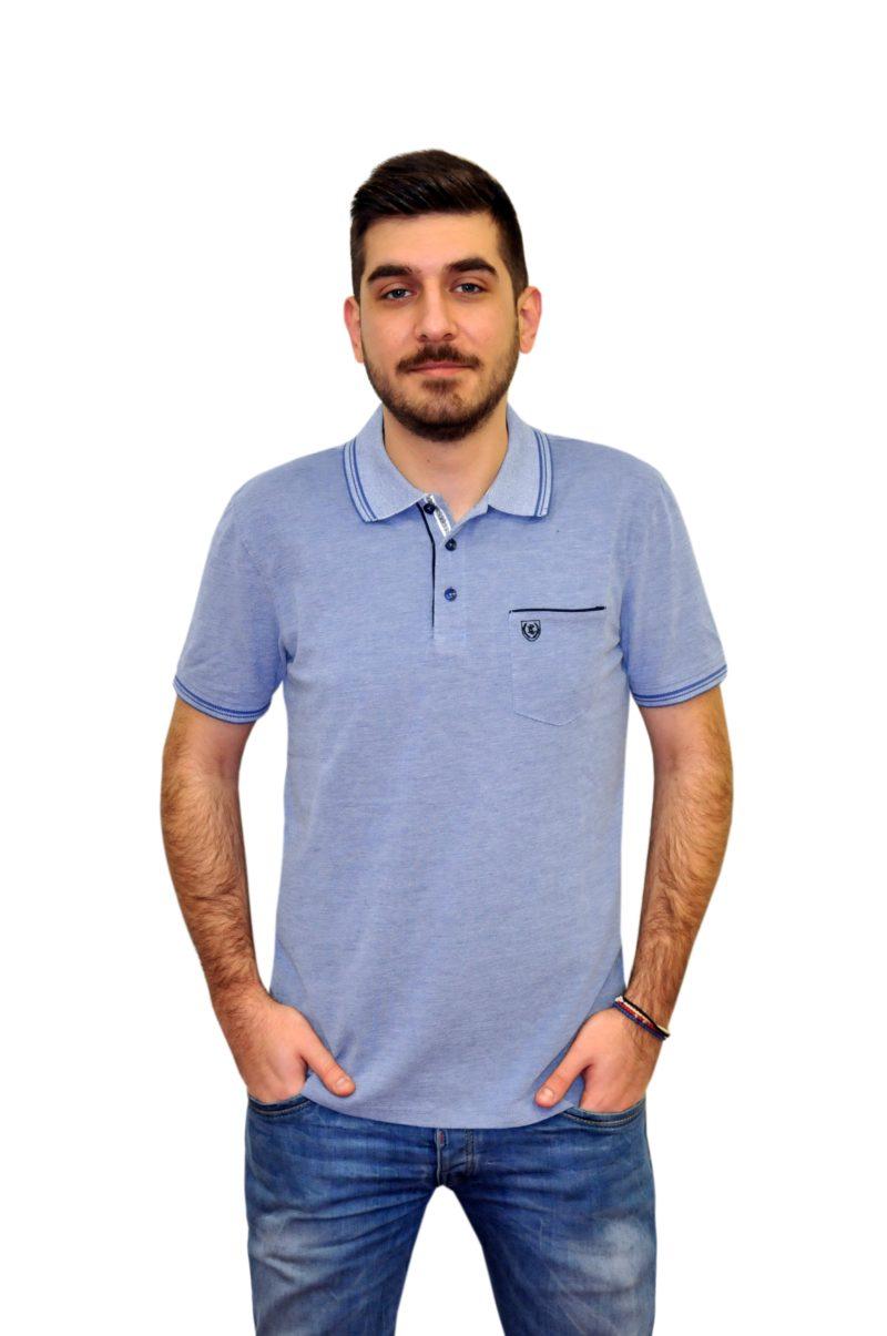 Ραφ βαμβακερό κοντομάνικο μπλουζάκι PRE END