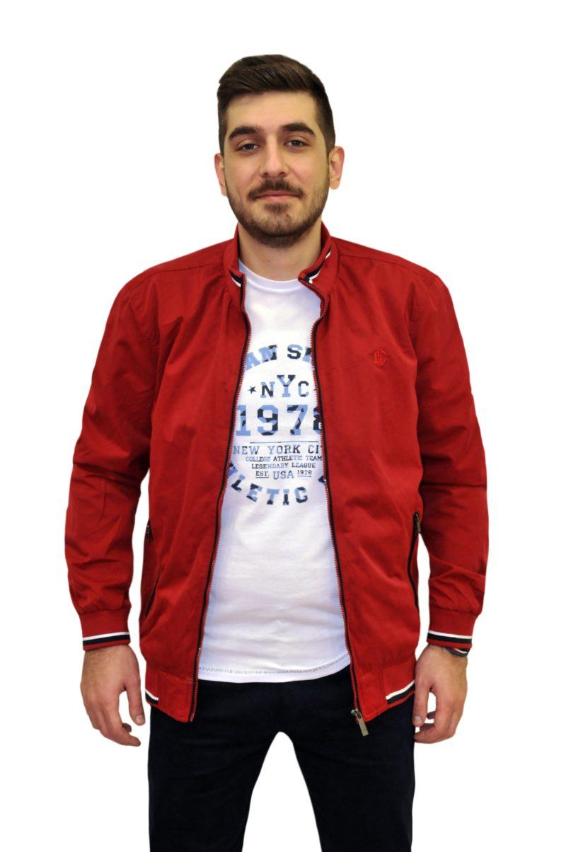 Κόκκινο καλοκαιρινό μπουφάν PRE END