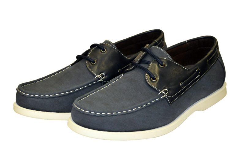 Μπλε σκούρα καλοκαιρινά παπούτσια NEW YORK TAILORS
