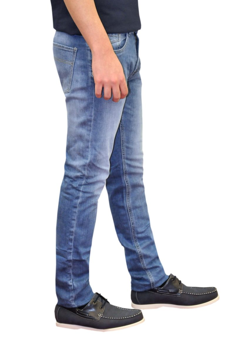 Μπλε τζιν παντελόνι MARCUS