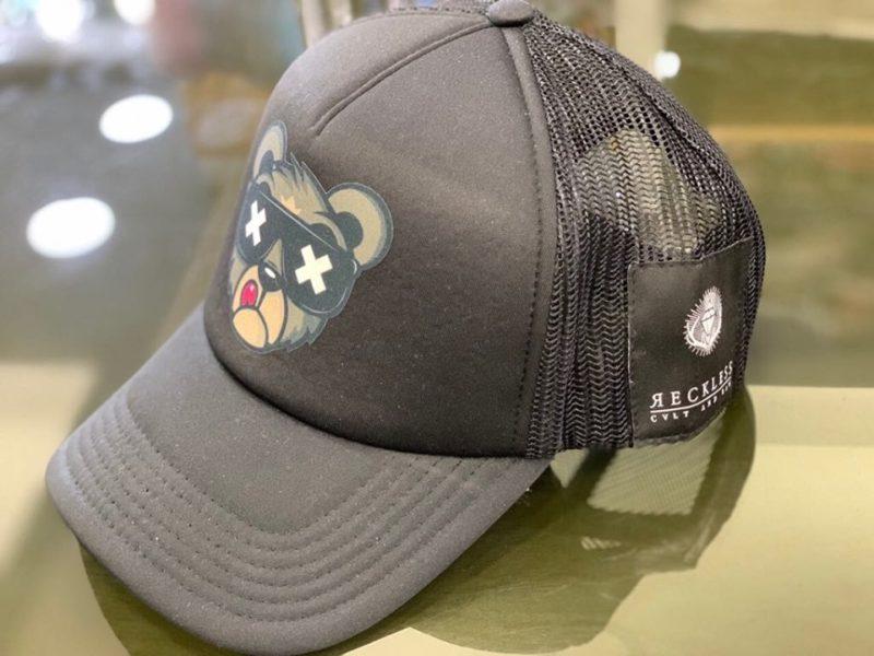 Μαύρο καπέλο τζόκεϊ RECKLESS