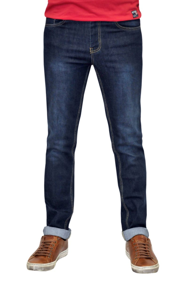 Μπλε σκούρο τζιν παντελόνι BATTERY