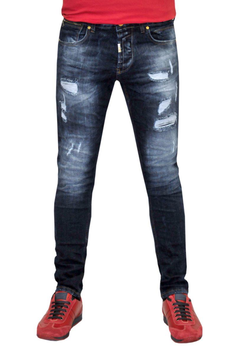 Μπλε σκούρο τζιν παντελόνι PROFIL