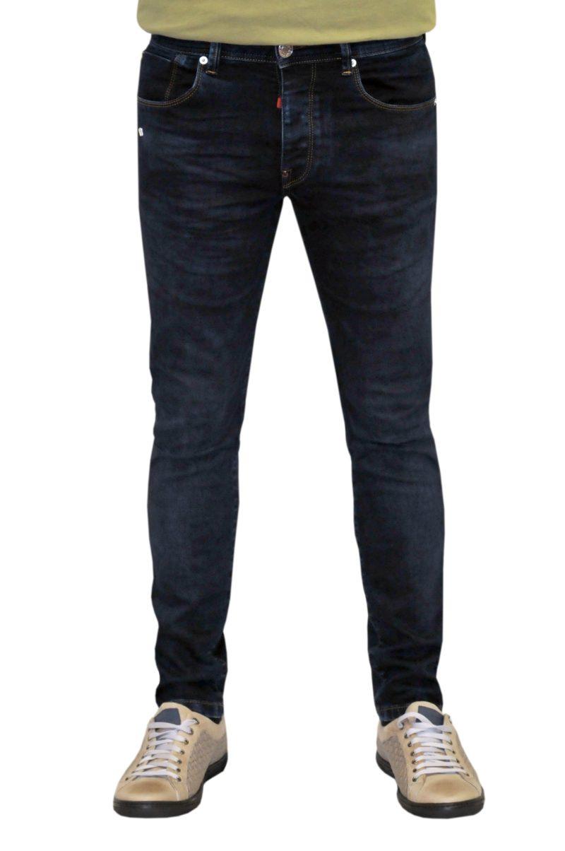 Μπλε σκούρο τζιν παντελόνι