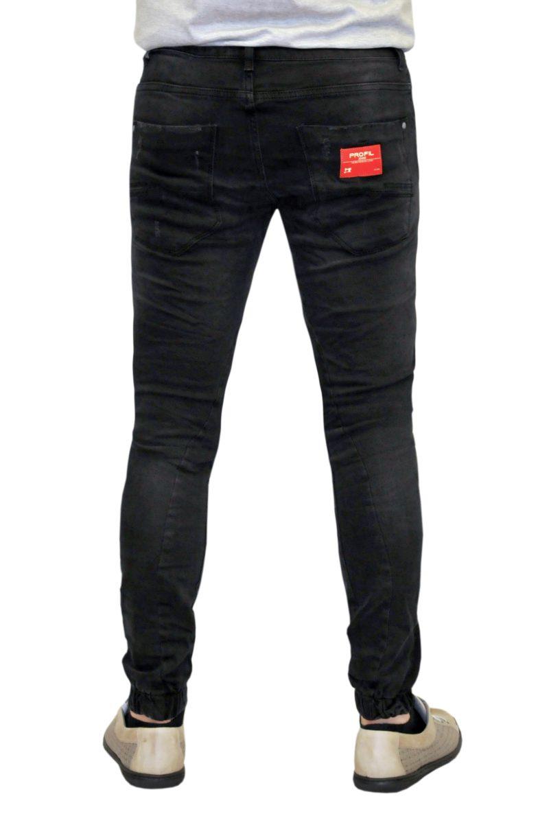 Μαύρο τζιν παντελόνι PROFIL