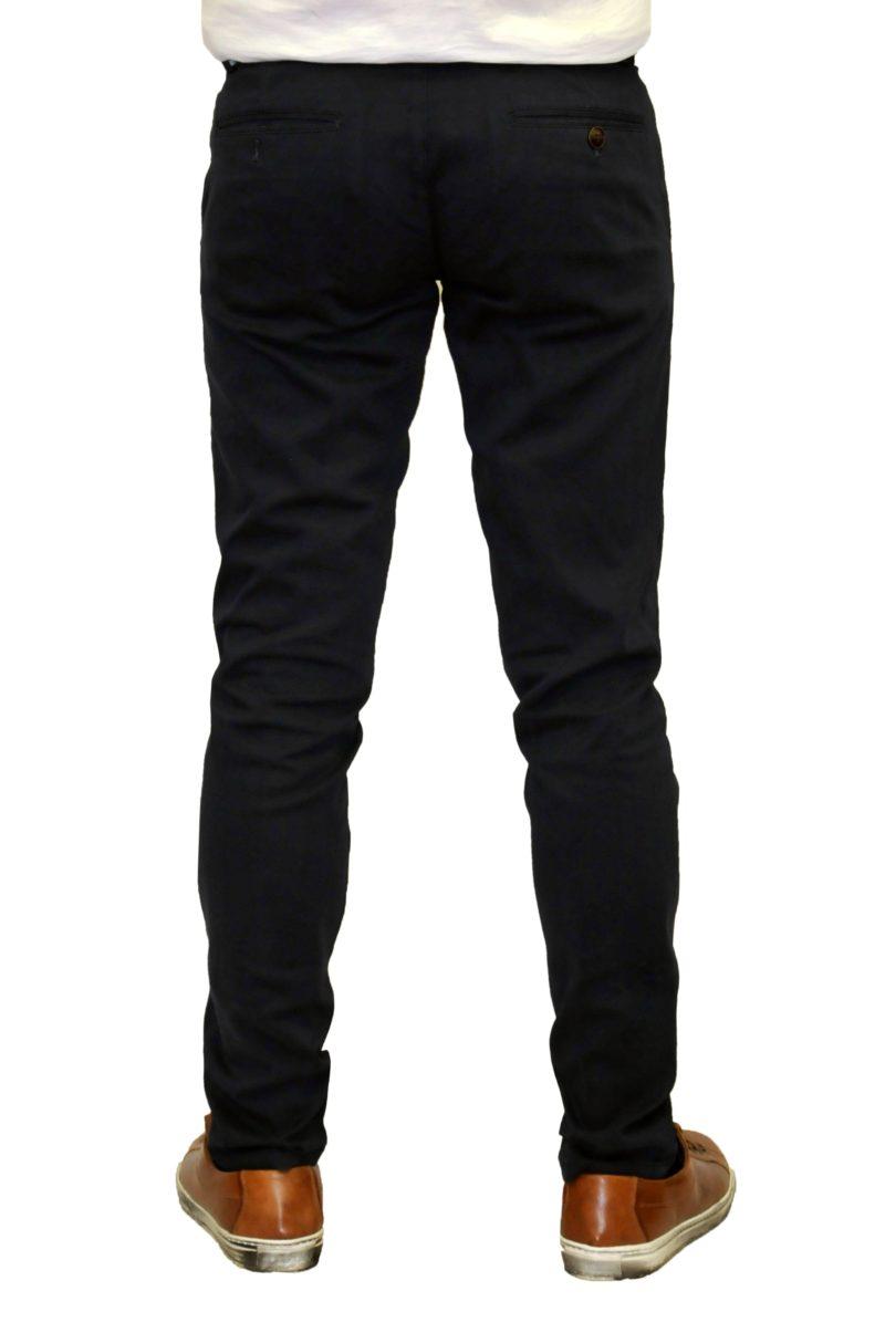 Μπλε σκούρο χειμερινό βαμβακερό παντελόνι NYT