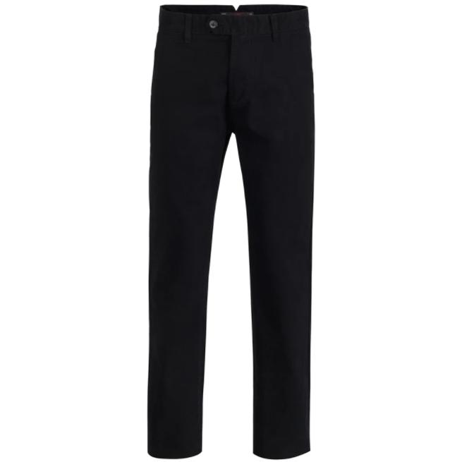 Μαύρο χειμερινό βαμβακερό παντελόνι GREENWOOD