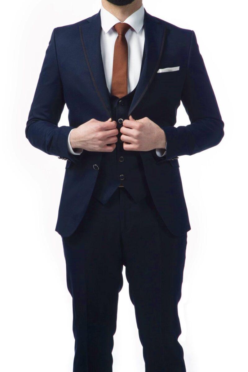 Μπλε κοστούμι SARTORI