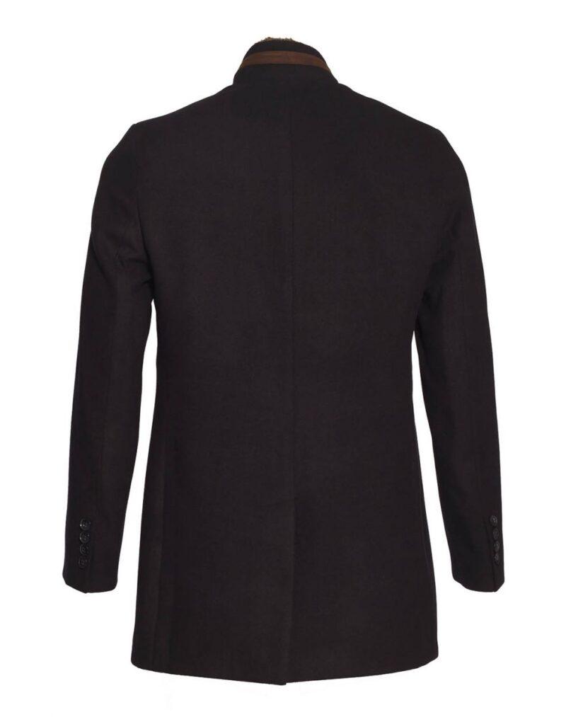 Μαύρο παλτό PAULO FRIEDMAN