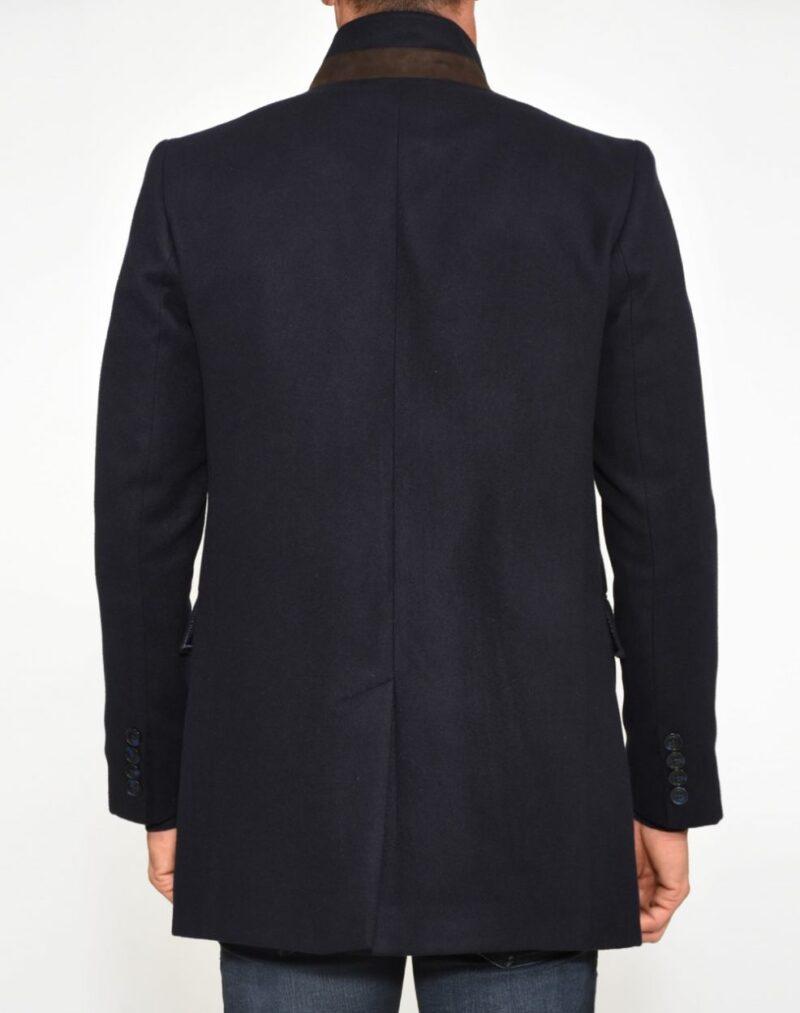 Μπλε σκούρο παλτό PAULO FRIEDMAN