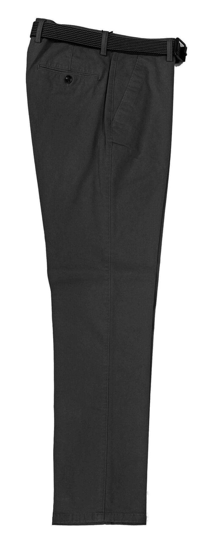 Γκρι σκούρο χειμερινό βαμβακερό παντελόνι NEW YORK TAILORS