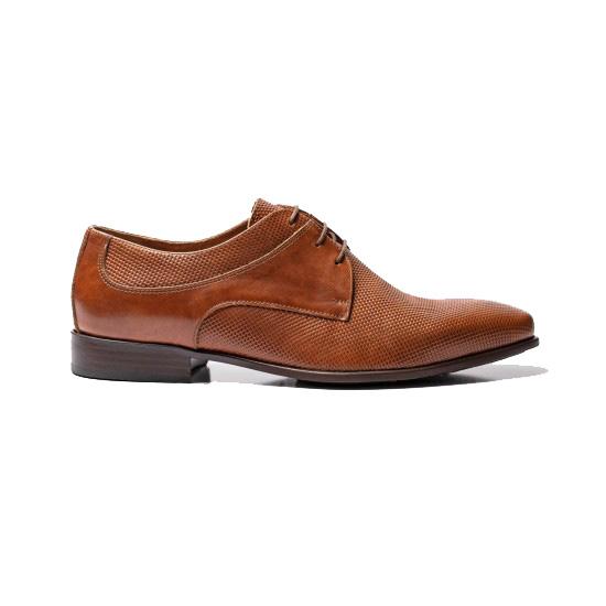 Κάμελ δερμάτινα παπούτσια RAYMONT