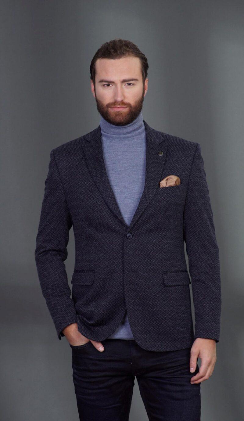 Μπλε σκούρο σακάκι MASSIMO VENEZIANI